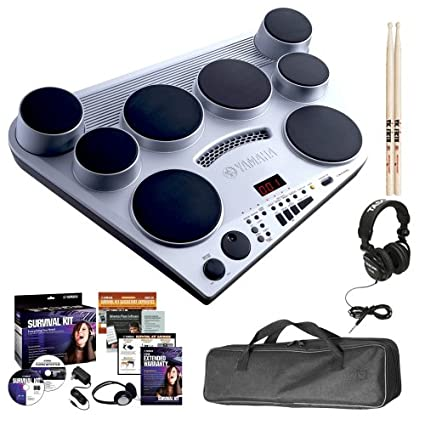 Amazon.com  Yamaha DD-65 Portable Digital Drum Pad Bundle with Power  Chord 263f4fdb89