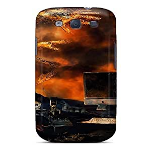 New Arrival Premium S3 Case Cover For Galaxy (volcano Theme Designer Mac Background)