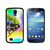 MSD Premium Samsung Galaxy S4 Aluminum Backplate Bumper Snap Case IMAGE ID: 29941964 wasp Vespula germanica close up with colourful background