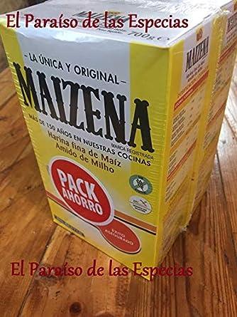 Pack Ahorro Maizena 700 gr x 2 unidades - Harina Fina de Maiz: Amazon.es: Alimentación y bebidas