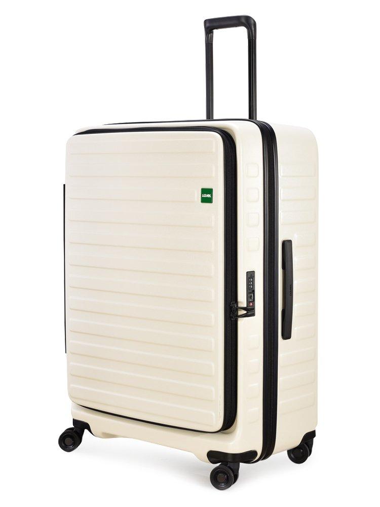(ロジェール) LOJEL スーツケース CUBO-L 71cm B0744JK6PM オフホワイト オフホワイト