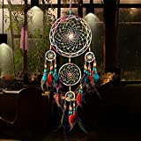 LtrottedJ Handmade Dream Catcher Net Hanging Home Car Decoration Decor Craft Gift