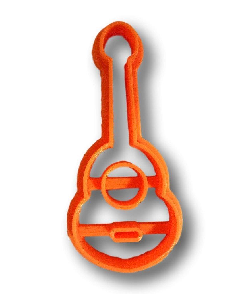 Cookie Cutz Guitarra Cortador de Galletas: Amazon.es: Hogar