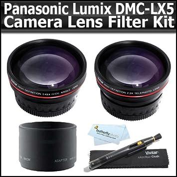Bower 52mm Adapter Tube for Panasonic DMC-LX5 Digital Camera
