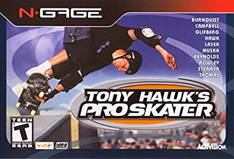 Amazon. Com: tony hawk's pro-skater (nokia n-gage) by activision.