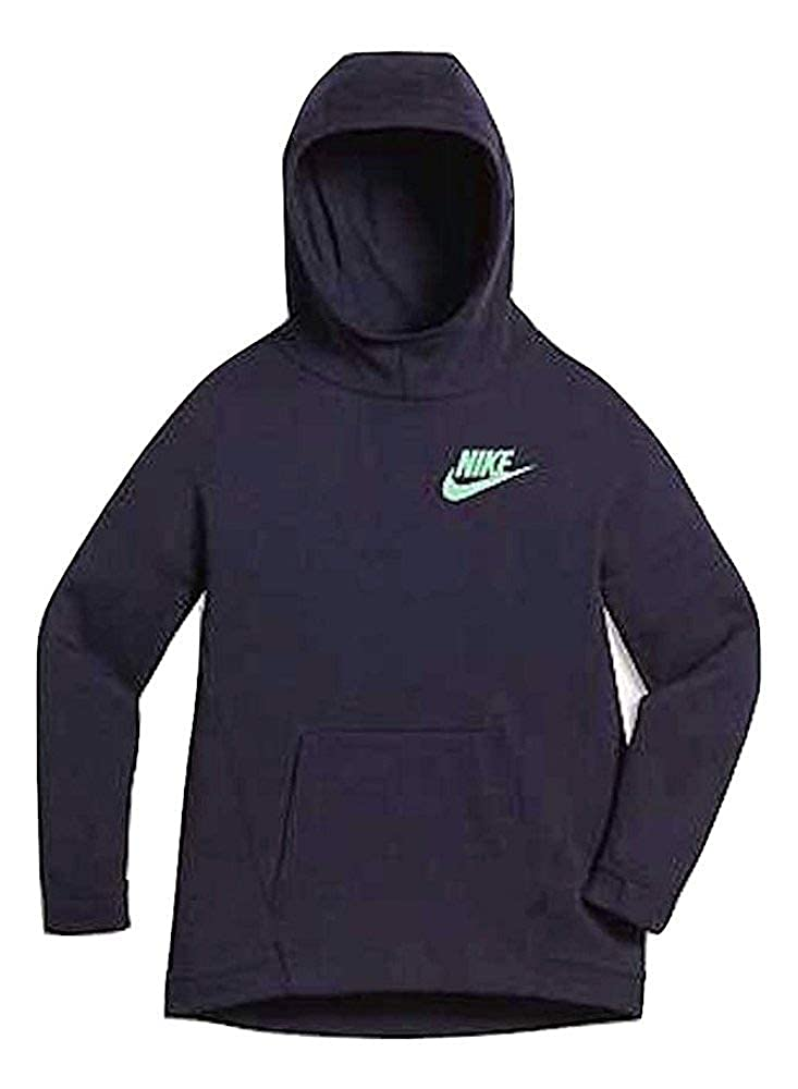 dd64b8bf05e5 Amazon.com  Nike Girls Sportswear Tech Fleece Big Kids Hoodie Purple  823582  Clothing