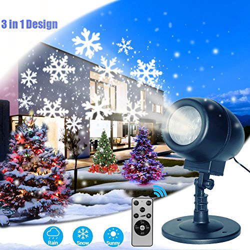 Outdoor Snowflake Light Projector in US - 1
