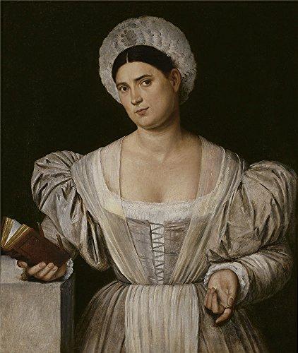 The Polyster Canvas Of Oil Painting 'Licinio Bernardino Retr