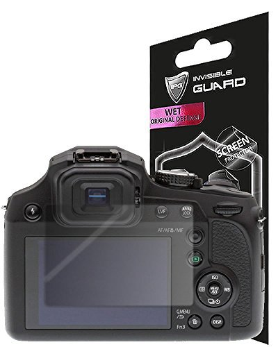 for Panasonic LUMIX 4K Fz80 Camera (2 Units) Screen Protector Skin Lifetime Replacement Warranty Invisible Protective HD Clear Guard – Smooth/Bubble -Free by IPG