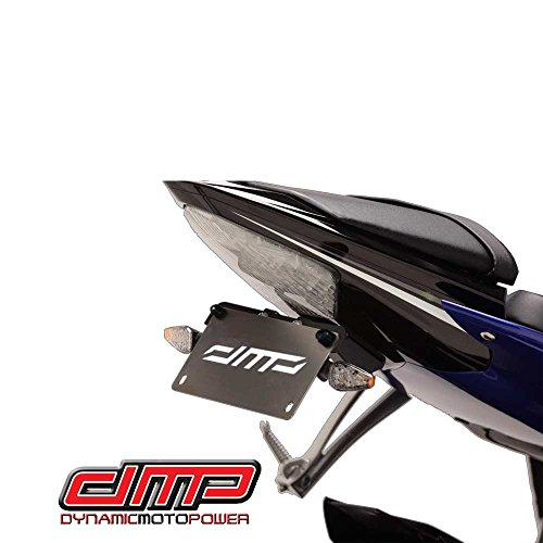 2006-2016 Yamaha YZF-R6 Fender Eliminator Kit; Includes Turn Signals and Plate Lights - 675-6330 - MADE IN THE - Racing Eliminator Kit Fender