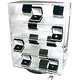 Revolving Rotating Locking Display Case Counter Top