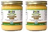 PRIMALFAT Coconut Ghee 14.2 oz, Virgin & Certified Organic (2-Pack)