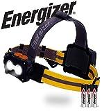 Energizer Tactical LED Headlamp Flashlight, High Lumens LED Headlight, IPX4 Waterproof, Tactical Flashlight Head Lamp for Camping, Hiking, Running, Hurricane Supplies, Survival Kit