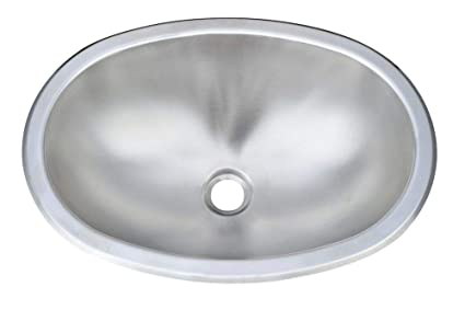 Delicieux Image Unavailable. Image Not Available For. Color: 1 Pc Of Oval Stainless  Steel Sink ...