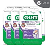 GUM Orthodontic Wax, Mint with Vitamin E and Aloe