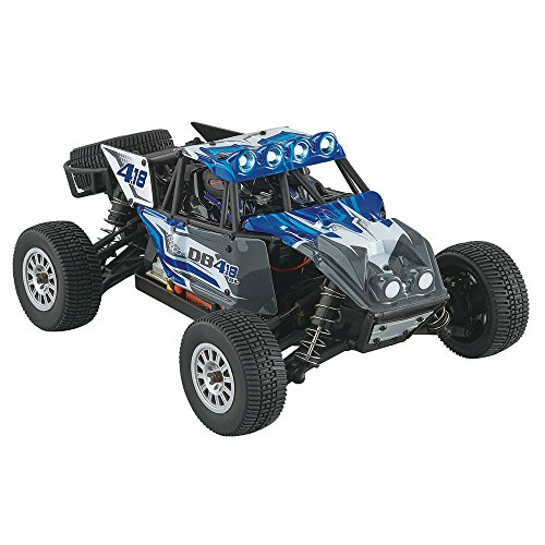 Dromida 1:18 Scale RTR Remote Control RC Car: DT4.18BL Brushless Electric 4WD DB Desert Buggy with 2.4GHz Radio, 7.2V 6C 1300mAh NiMH Rechargeable Battery, 4 x AA Batteries and Charger (1 Traxxas 18 Aluminum Parts)