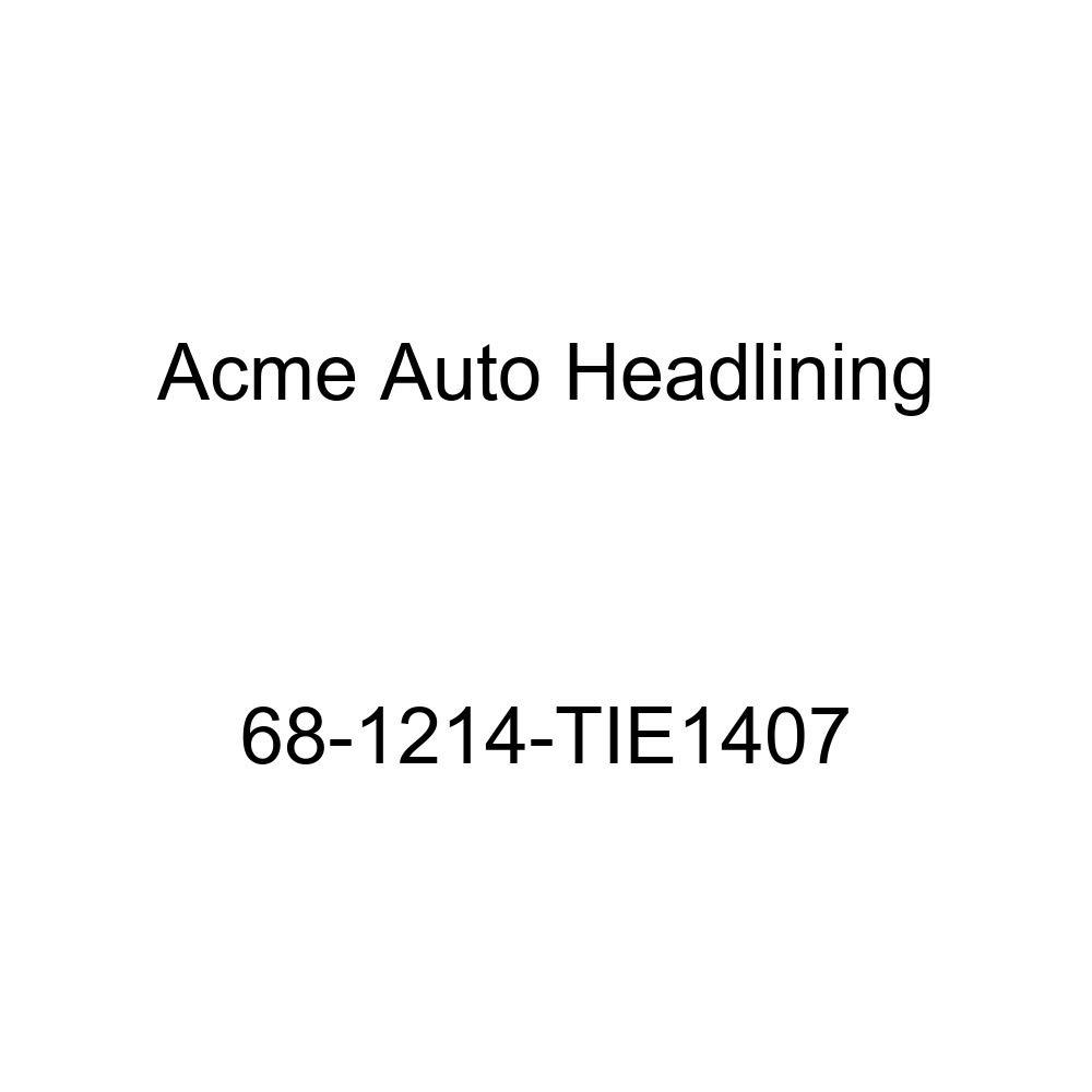 Oldsmobile Delmont 88 /& Delta 88 4 Dr Hardtop 5 Bows Acme Auto Headlining 68-1214-TIE1407 Dark Brown Replacement Headliner