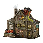 Department 56 4044878 Snow Village Halloween Harley Davidson Ghost Riders Club Lit House, 8.46""