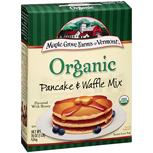 Maple Grove Farms Complete Pancake & Waffle Mix, 16 Ounce (Pack of 8)
