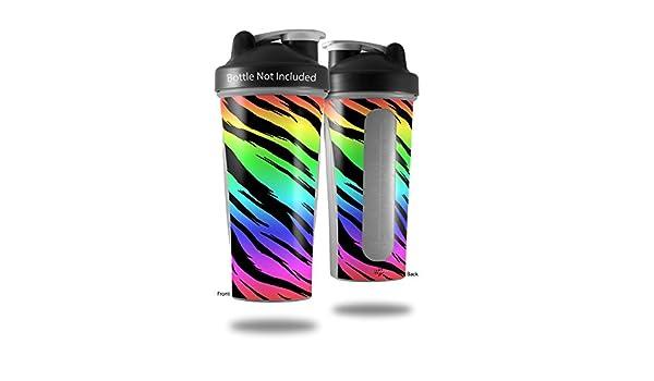 Tiger Rainbow – para estilo Skin Wrap para licuadora botella ...
