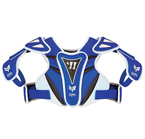 WARRIOR Rabil Next Shoulder Pads, Royal Blue, Youth Small