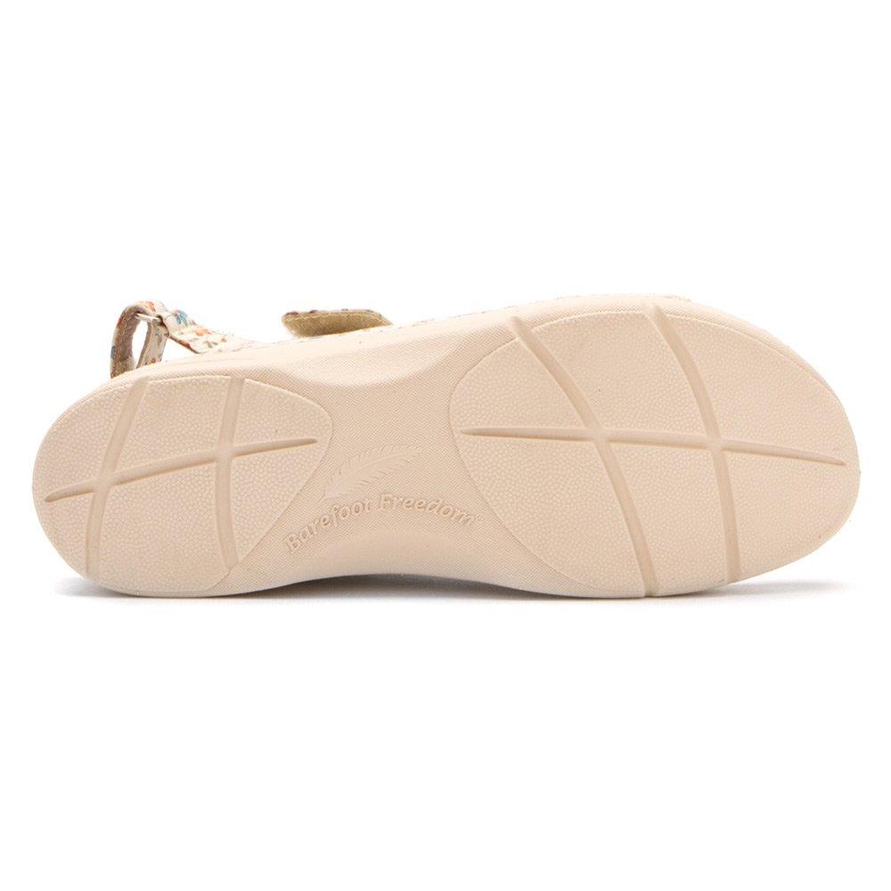 Drew Shoe Women's Dora Comfort Sandal B00BT7G0VG 5.5 E US|Cream Floral
