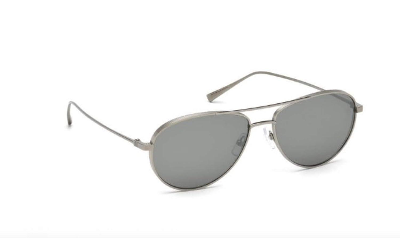 Amazon.com  Ermenegildo Zegna EZ0072 Sunglasses 59 12C Shiny Dark Ruthenium  Smoke Mirror  Clothing 20726dab74e