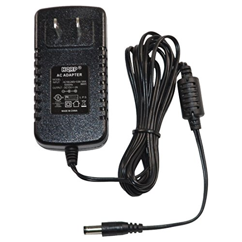 HQRP 12V 2A Power Supply/AC Adapter for Lorex CVA4902 Power Cord Replacement; Lorex LW2701AC1 Lorex LW2711 Security Surveillance System [UL Listed] Plus HQRP Euro Plug Adapter