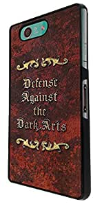 455 - Defense against the dark Arts Design For Sony Xperia Z3 Compact Fashion Trend CASE Back COVER Plastic&Thin Metal