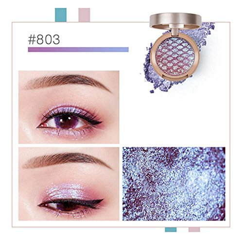 10 Colors Mini Single Eyeshadow Shimmer Glitter Eye Shadow Powder Lasting Waterproof Palette Metallic Highlighter Eyeshadow