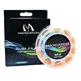 Maxcatch Avid Fly Line with Welded Loop Weight Forward Floating Line 100ft(3F/4F/5F/6F/7F/8F)