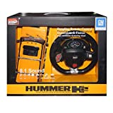 hummer h2 rc - Hummer H2 1:14 Scale Remote Control High Speed Racing Model Series - Orange