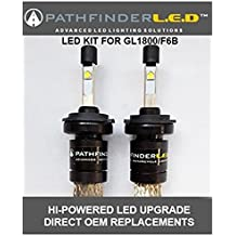 H7 LED Headlight Replacement Bulbs for Honda GL1800 & F6B