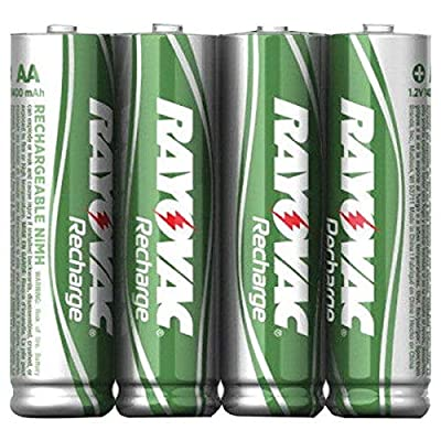 RAYOVAC AAA 4-Pack Batteries