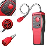 ExGizmo Combustible Gas Detector Handheld Portable Automotive Mini Gas Leakage Location Determine Tester with Sound and Light Alarm