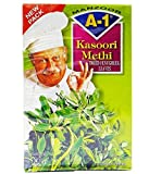 A1 - Dried Fenugreek Leaves (kasoori methi) 100g box
