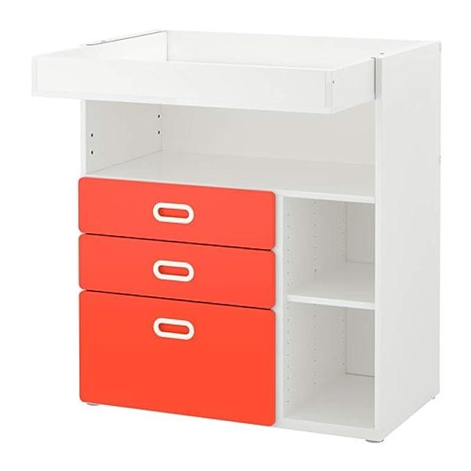 Ikea Stuva/Fritids 292.531.67 - Mesa cambiadora con cajones, Color ...