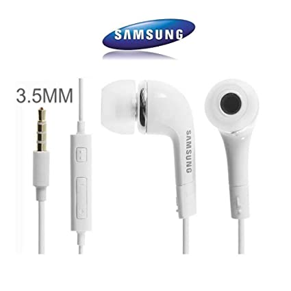 22a9b53c90b GLAMPANDA EHS64 YR Samsung Handsfree 3.5 mm Jack Mp3 Earphones with Mic for  Samsung Galaxy Series