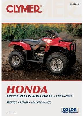 Clymer (manuales de reparación para Honda TRX 250 Recon es 2002 – 2009