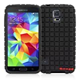 Snugg Galaxy S5 Silicone Case in Black- Non-Slip Material, Protective and Soft to Touch for the Samsung Galaxy S5