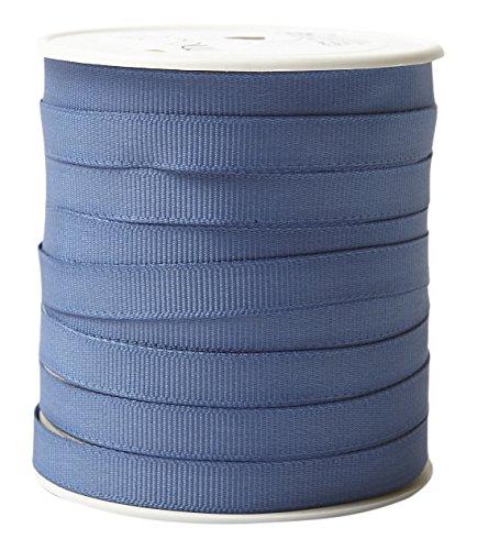 May Arts SX-83 3/8'' Grosgrain Ribbon, 100 yd, Slate Blue by May Arts