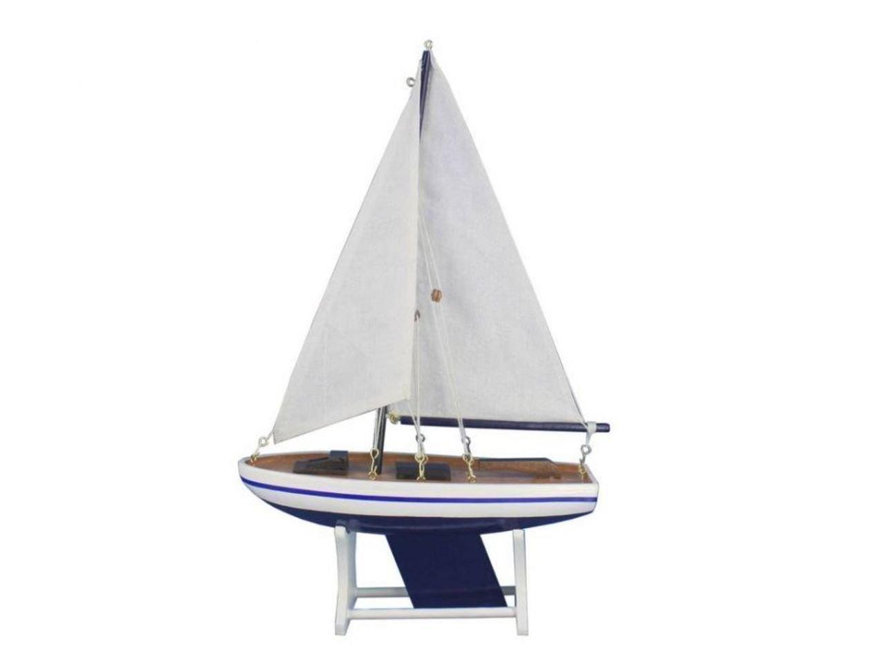 Hampton Nautical Decorative It Floats Model Boat 12