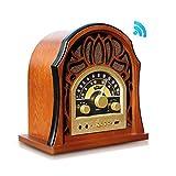 Pyle Bluetooth Radio Turntable, Black (PUNP37BT)