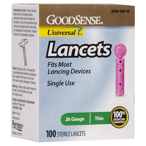GoodSense-26-Gauge-Lancets-100-Count