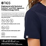 FIGS Casma Three-Pocket Scrub Top for Women