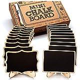 Mini Chalkboard Signs, 20 Pack Framed Small