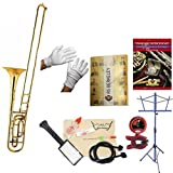 RS Berkeley TBB707 Artist Series Bass Trombone with case & Bonus RSB MEGA PACK w/Standard of Excellence Book