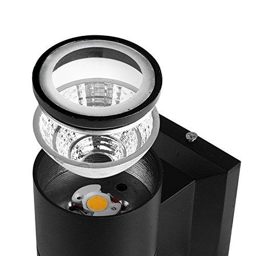 Led Wall Light Ip65: ONEVER COB 10W LED Wall Light IP65 Waterproof Wall Lamp