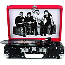 Crosley CR8005A-OD Cruiser Portable 3-Speed Turntable (One Direction)