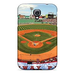 Hard Plastic Galaxy S4 Case Back Cover,hot Boston Red Sox Case At Perfect Diy